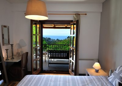 Greek luxury villa chambre-alex-vue-mer