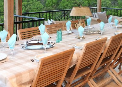 Skiathos Luxury Villas Outdoor-Dining-Room