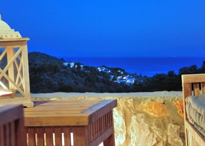 romantic luxury villa in Skiathos