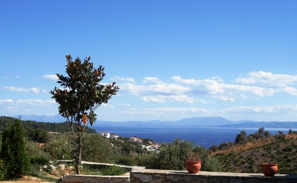 Greek luxury villa in Skiathos
